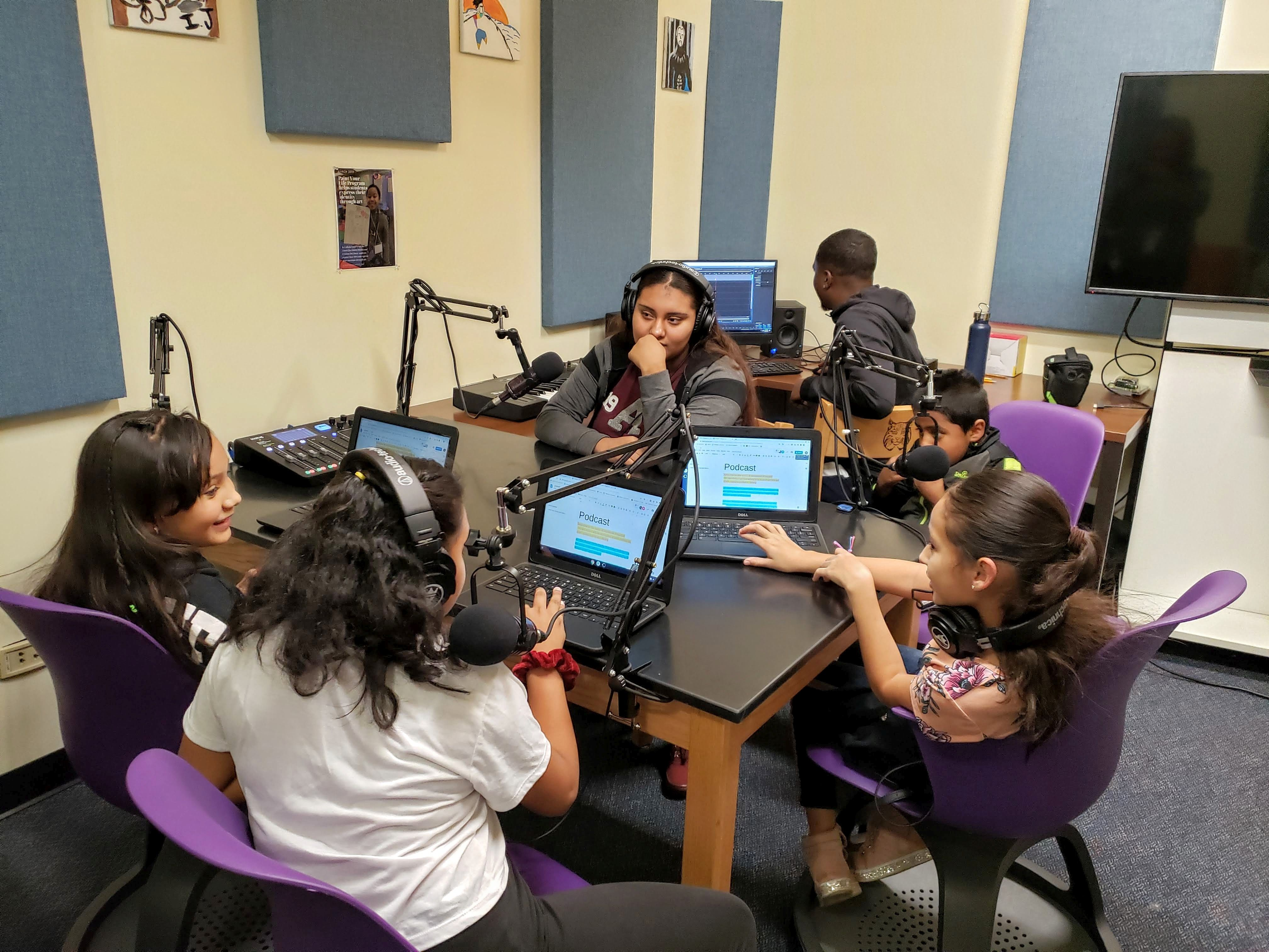 Voices of Montbello Podcast Class