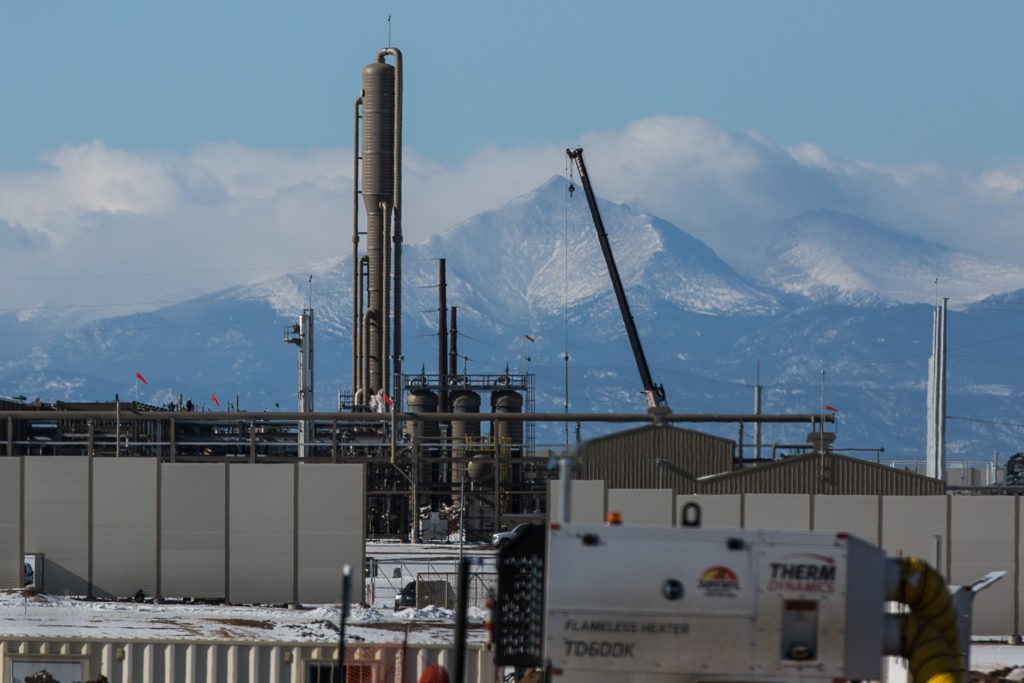 NATURAL GAS INSTALLATIONS WELD COUNTY