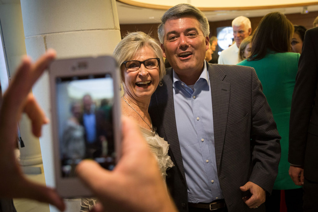Nikki Haley With Cory Gardner