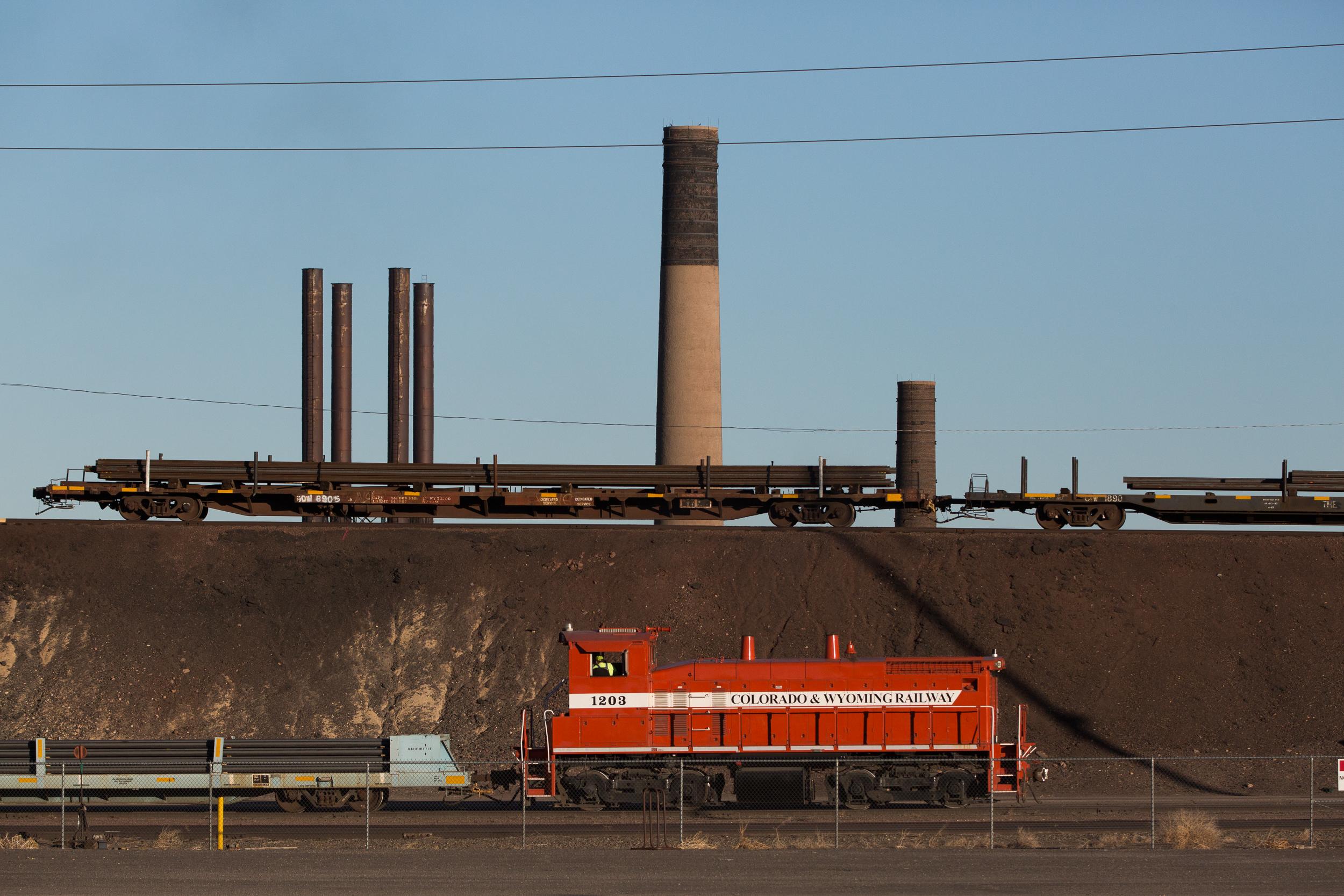 Pueblo Steel On Trains