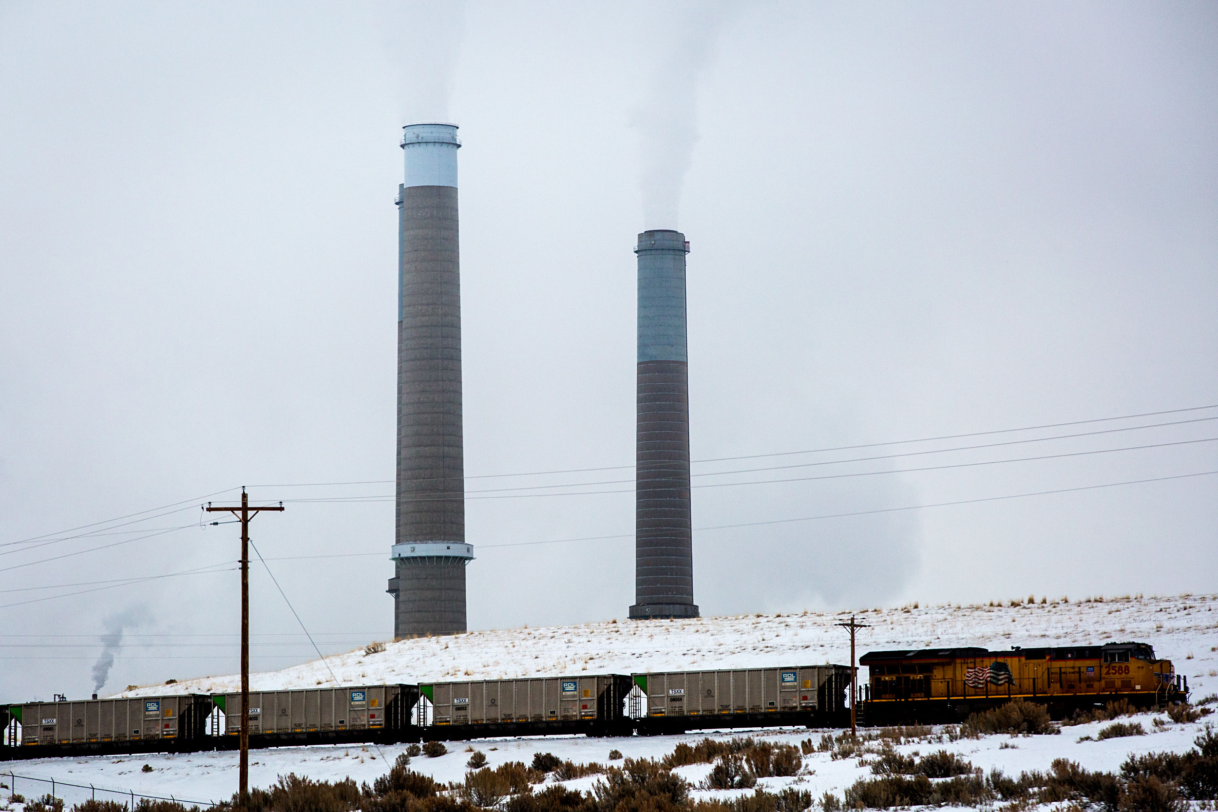 Craig Generating Station Winter