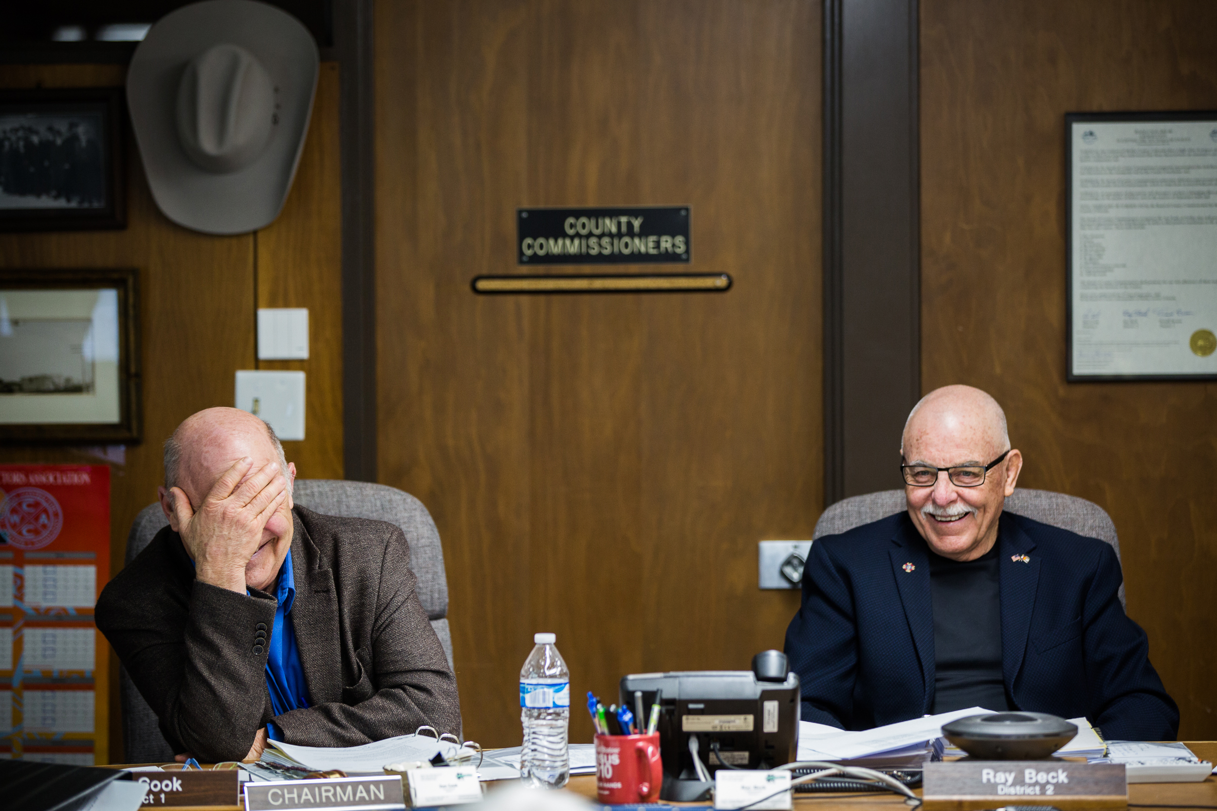 Craig Moffat County Commissioners Meeting Beck Cook