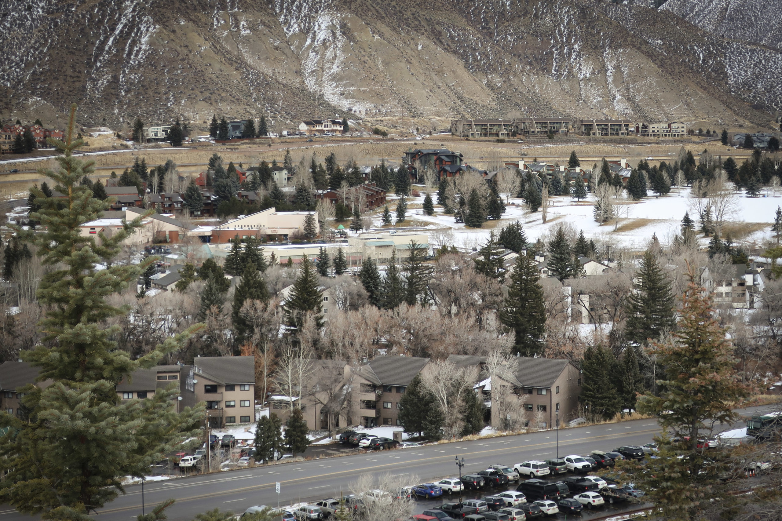 Avon is in the middle of the Vail Valley along Interstate 70 in central Colorado.