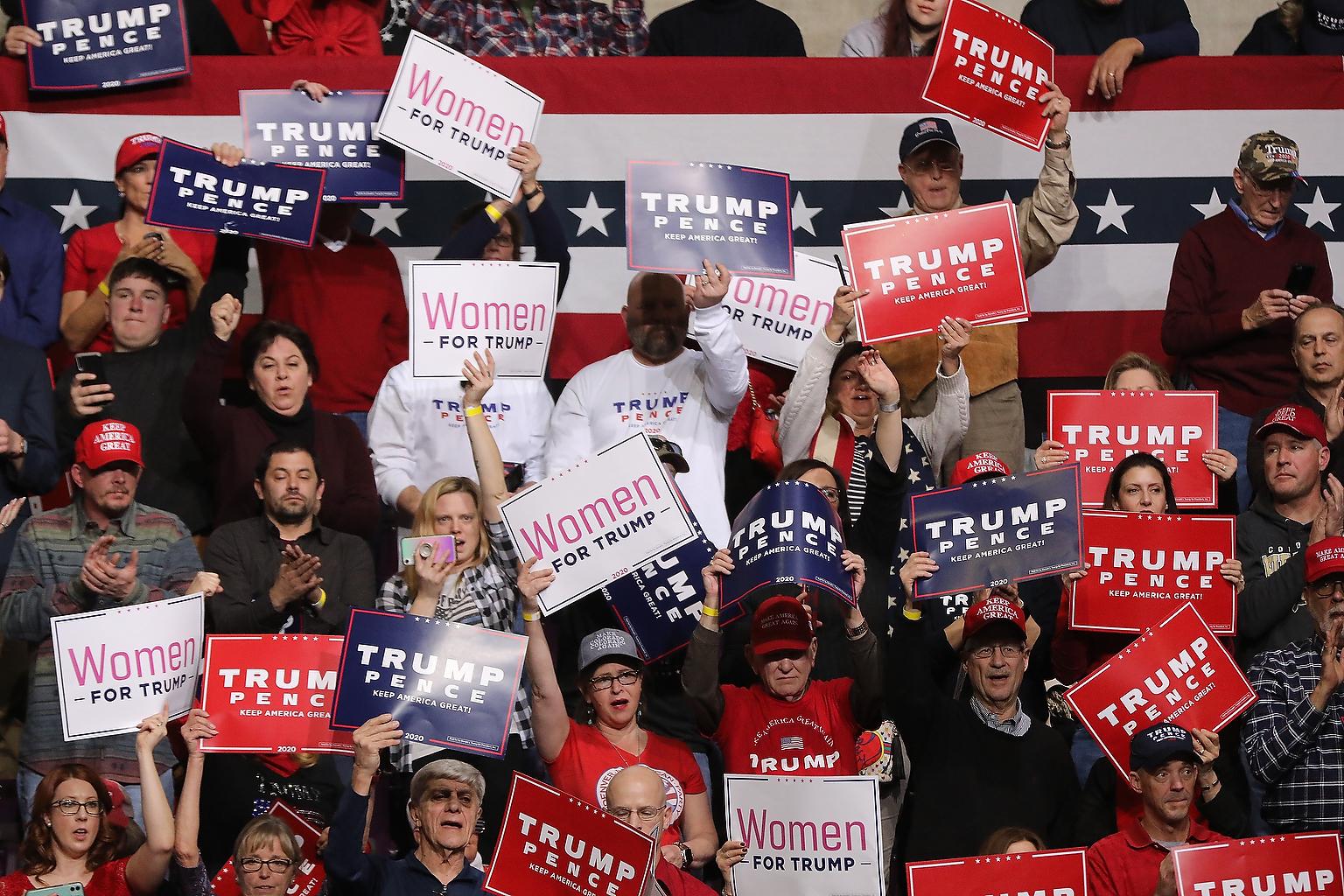Trump Rally Crowd