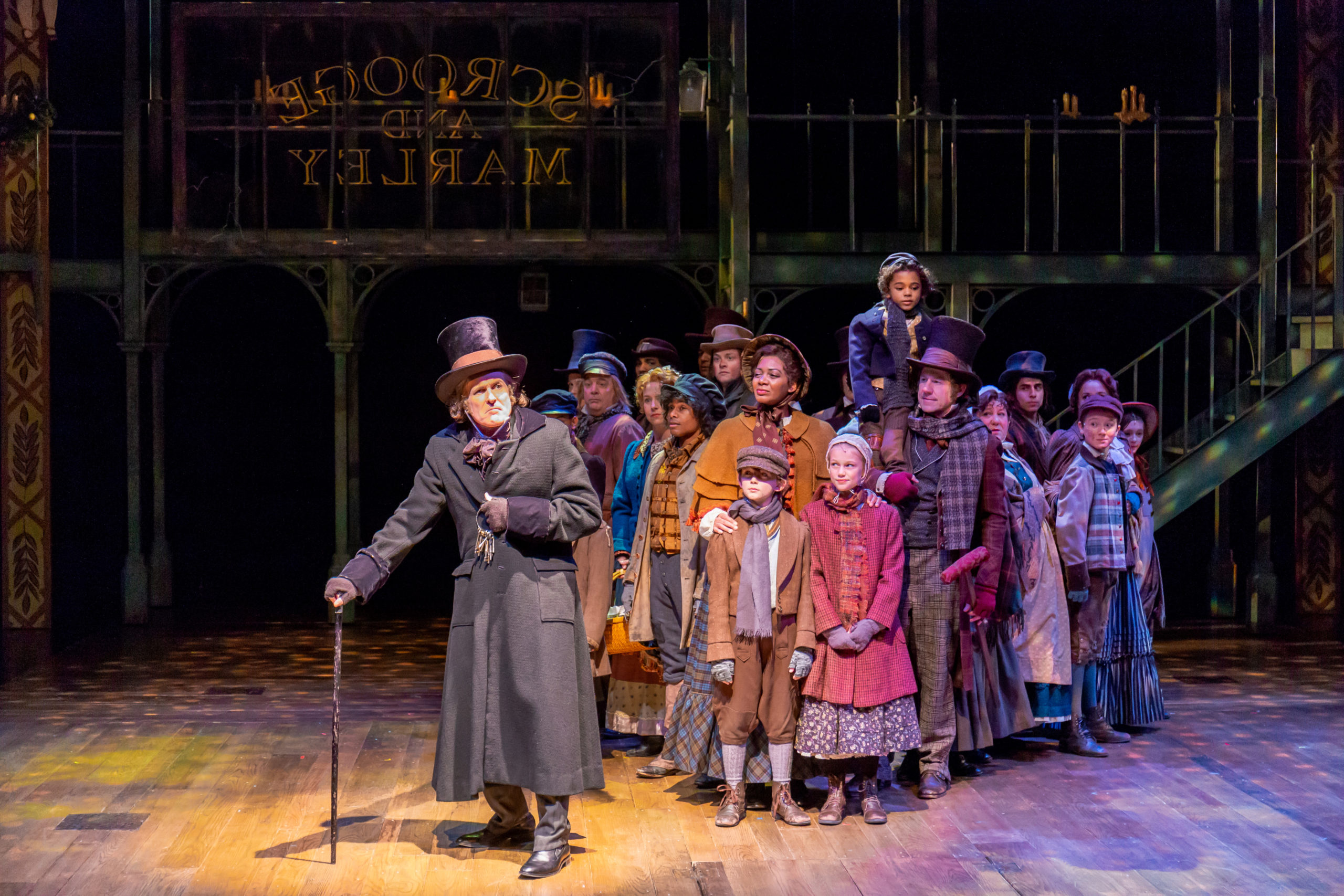"A 2018 performance of ""A Christmas Carol,"" which is returning for the DCPA Theatre Company's 2020-2021 season."