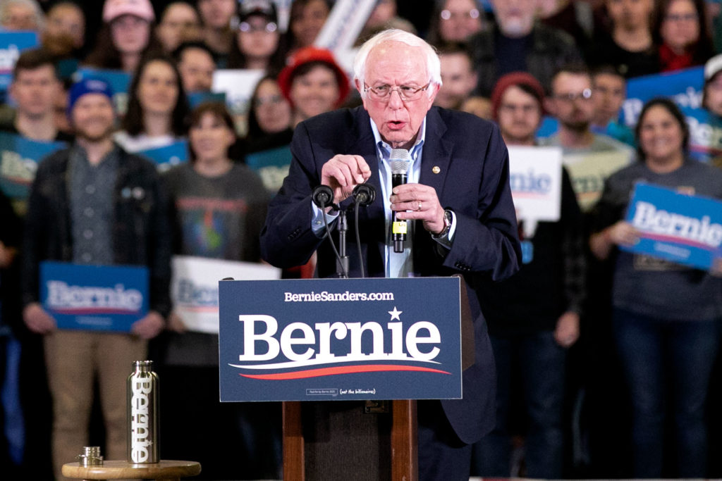 Bernie Sanders Campaigns In Denver