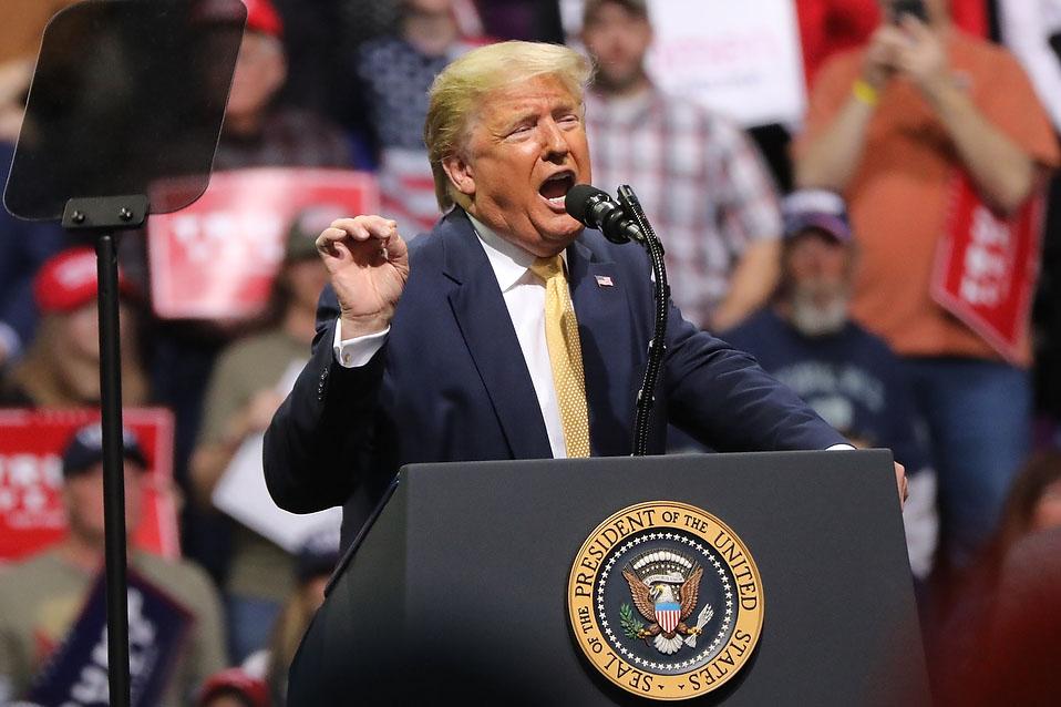 Donald Trump Speaks At Colorado Springs Rally