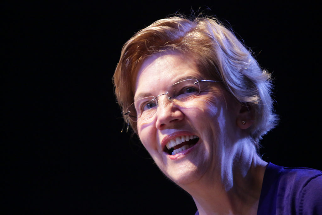 Elizabeth Warren Campaigns In Denver