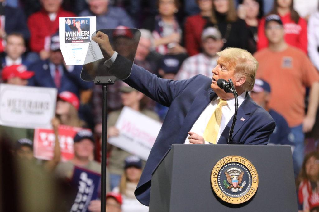 Trump Campaigns In Colorado Springs