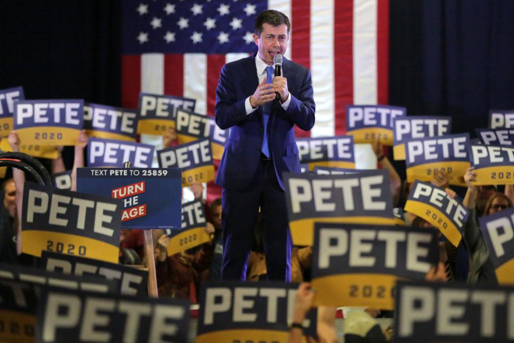 Pete Buttigieg Rally