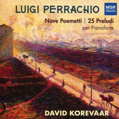 CD Cover for Luigi Perrachio Nove Poemetti