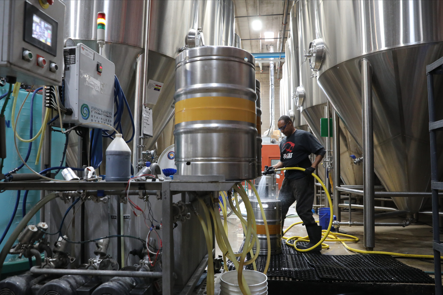 Denver Beer Co's Carbon Dioxide Boosts Plant Growth At The Clinic's Marijuana Growing Operation