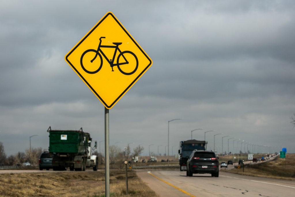 Pena Boulevard Is A Bike Route