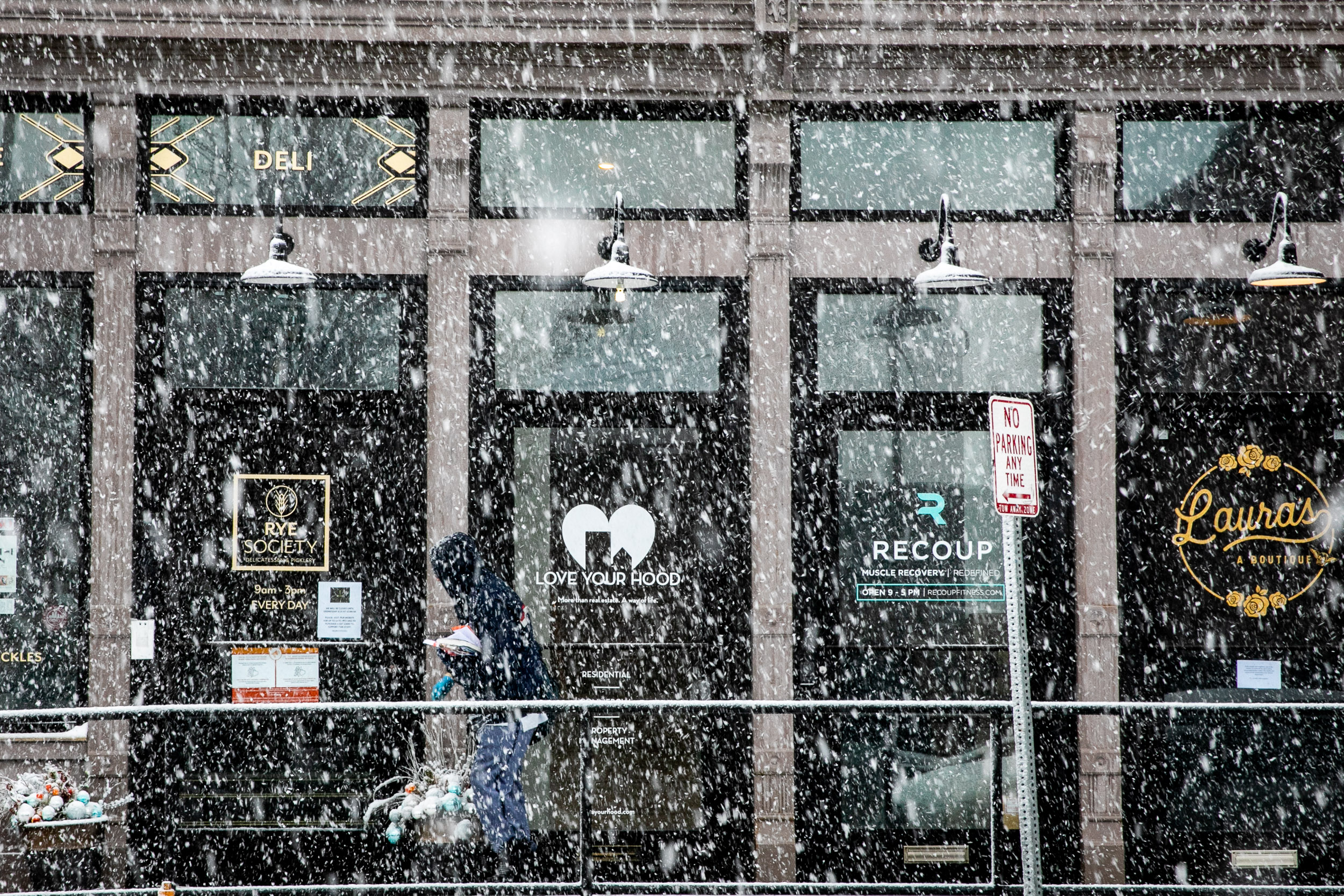 Coronavirus, Social Distancing, And Now Snow In Denver