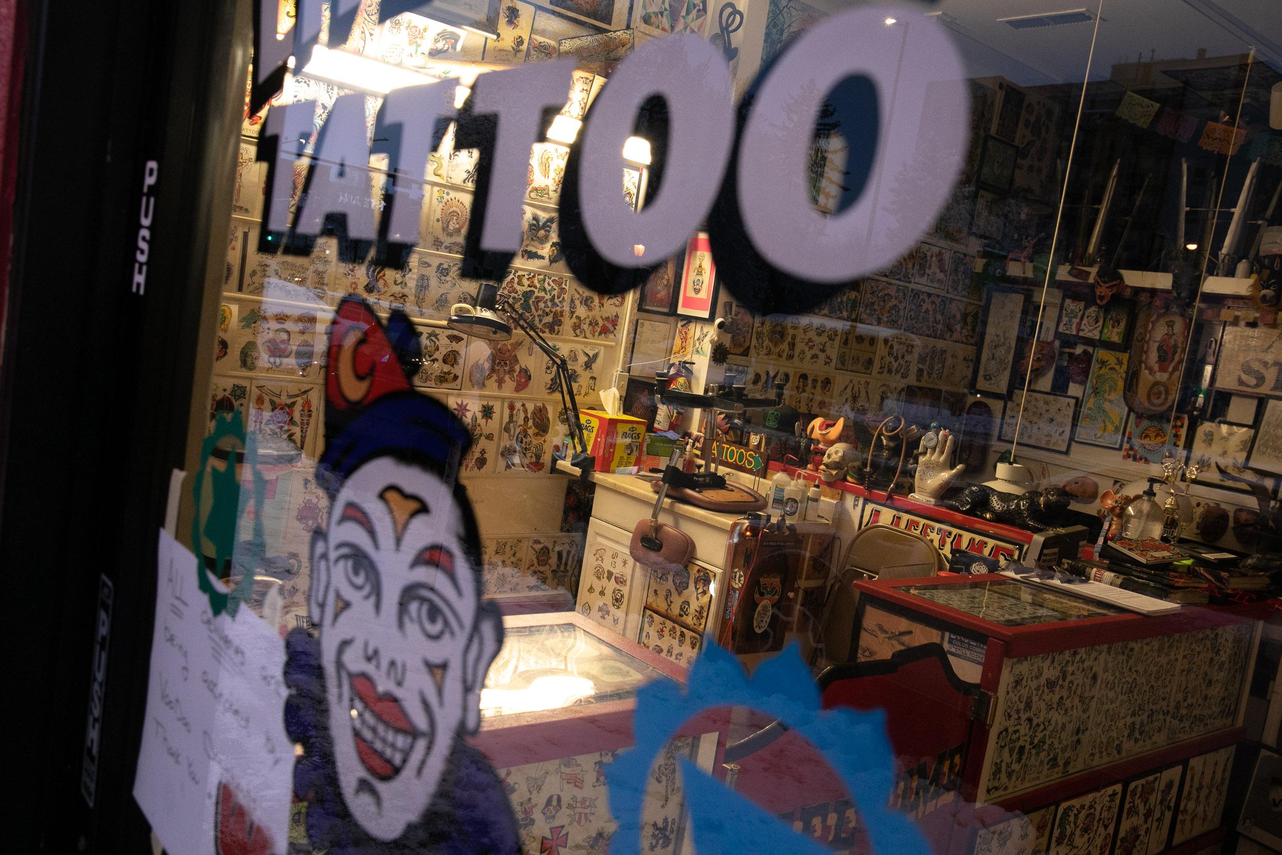 Tattoo Business Closed During Cononavirus Outbreak