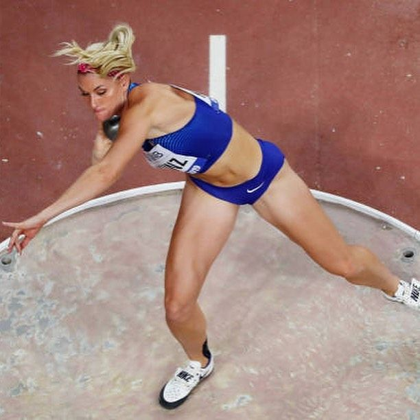 Annie Kunz shot put Olympian Olympic hopeful track field