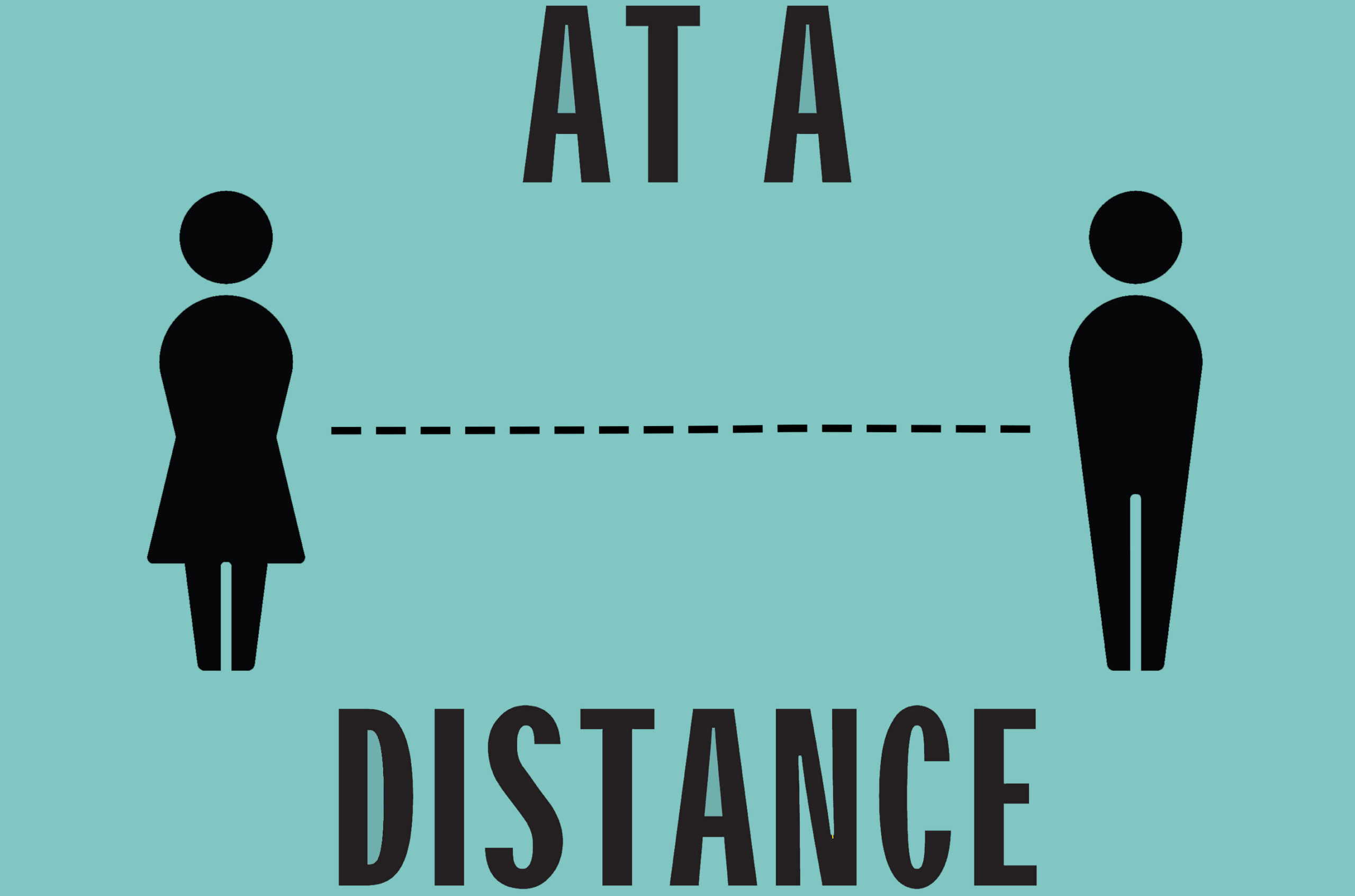 At A Distance Podcast Art 202003