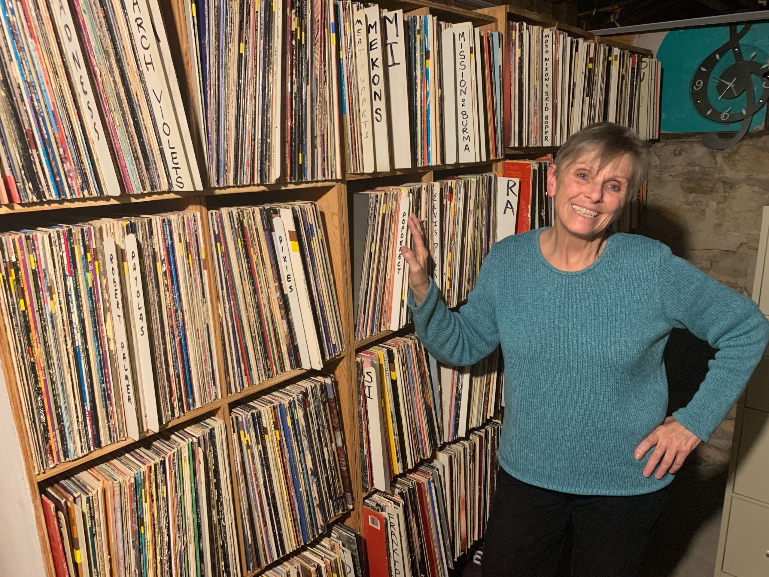 Vicky Gregor has been the music coordinator at KRCC in Colorado Springs for nearly three decades.