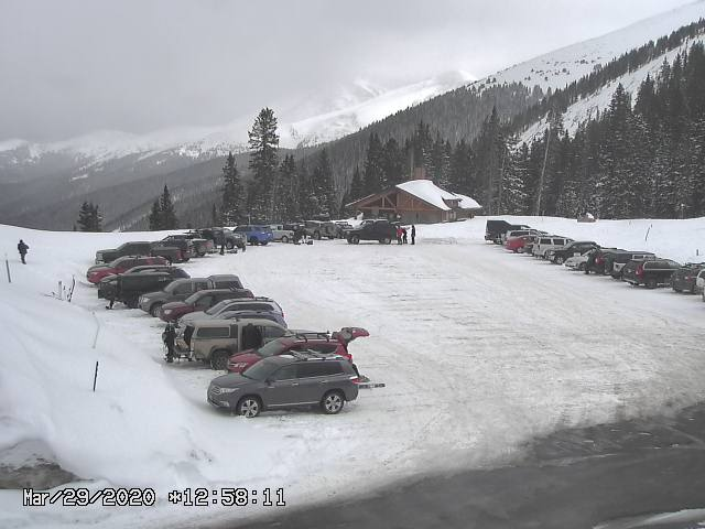 Berthoud Pass Sunday March 29 2020