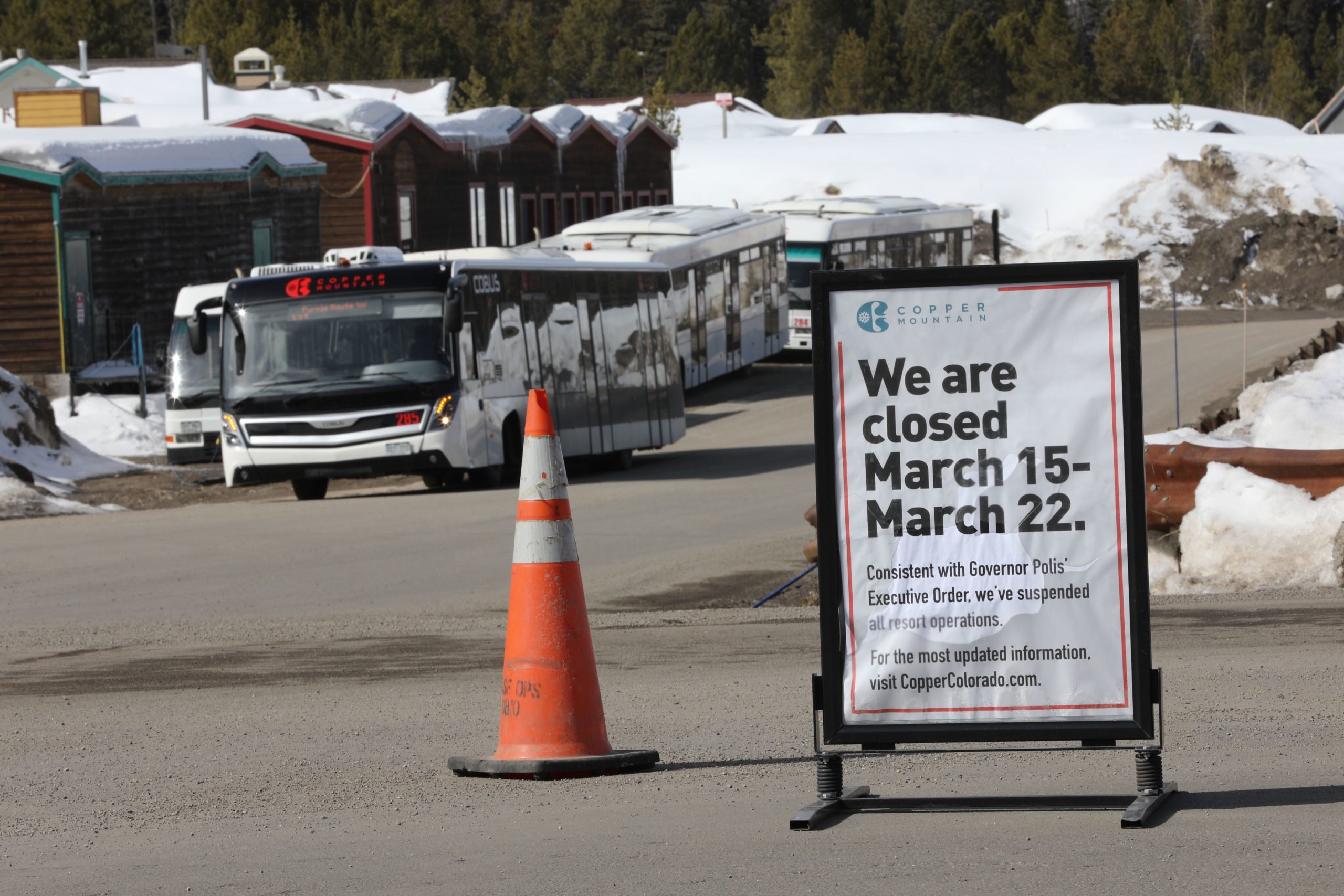 Coronavirus Copper Mountain Closed