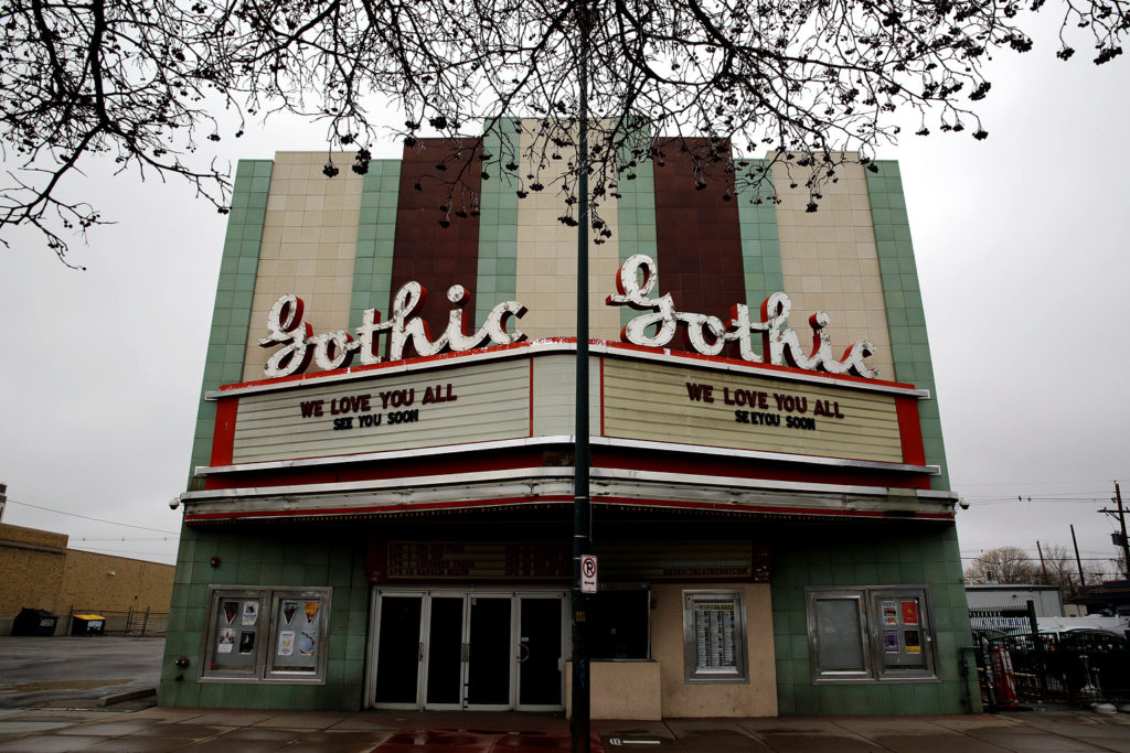 Gorthic Theater Closed