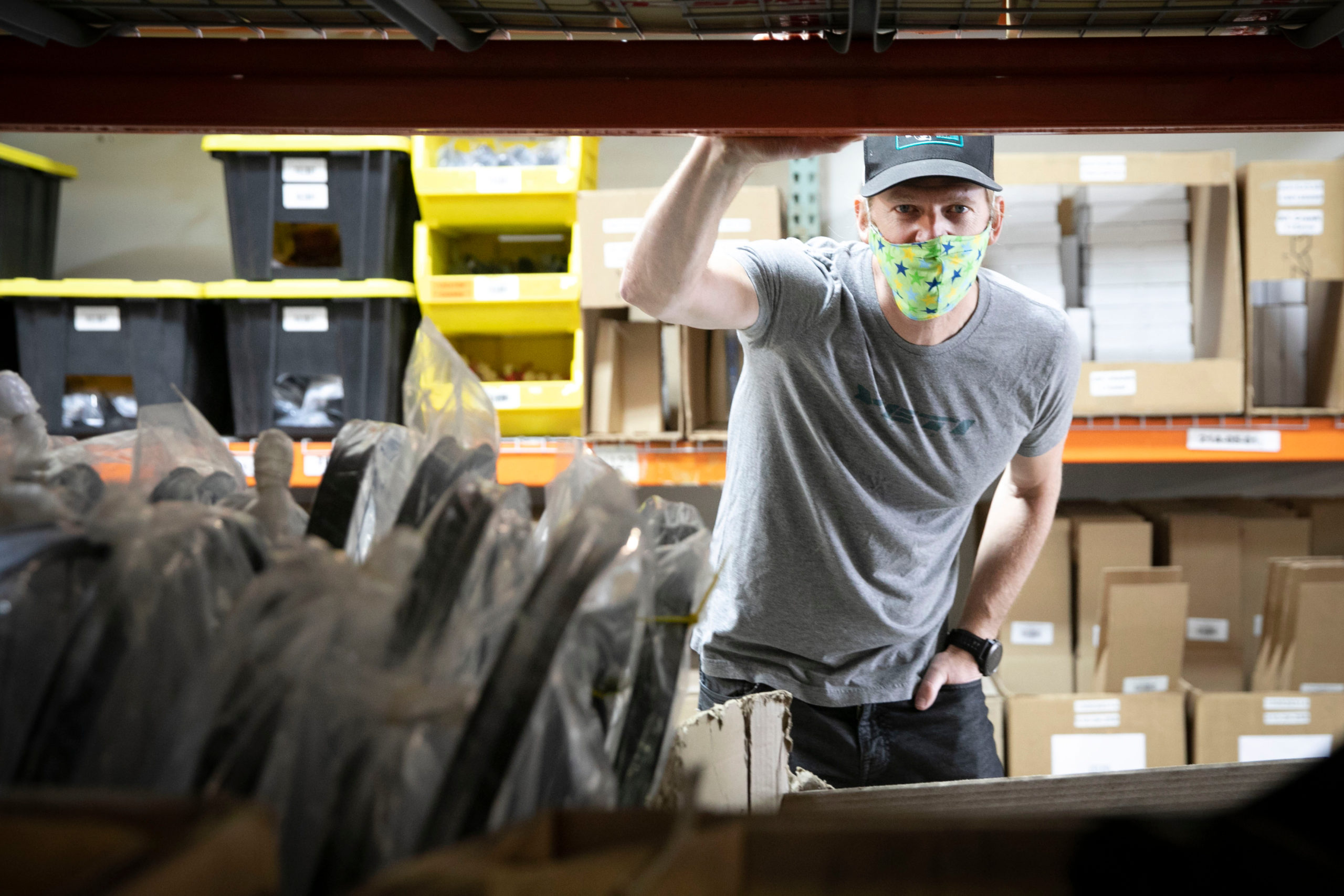 Yeti Cycles Retools To Make Face Shields For COVID-19 First Responders And Health Care Workers
