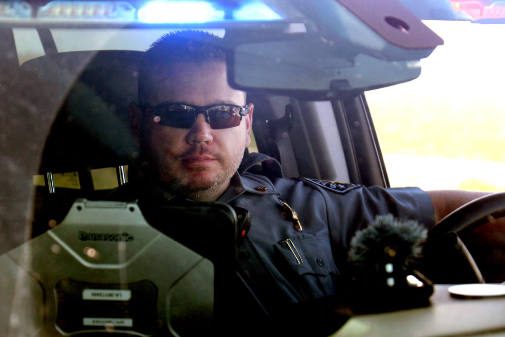 Sgt. Kris Haffner of the Weld County Sheriff's Office