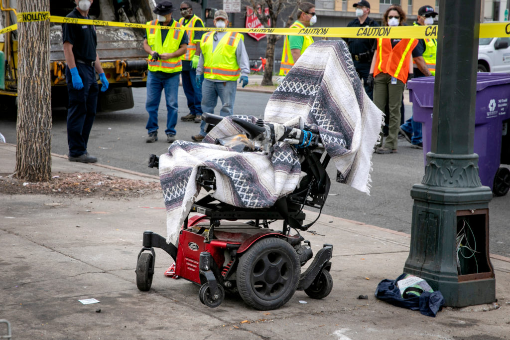 Denver Homeless Sweep