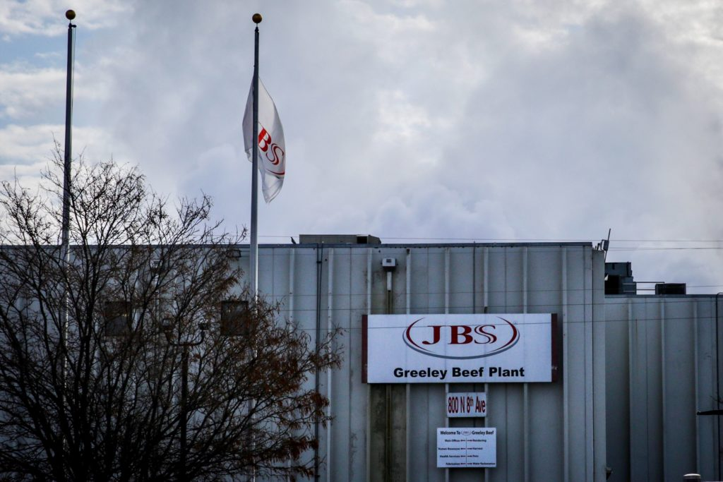 JBS Greeley Beef Plant
