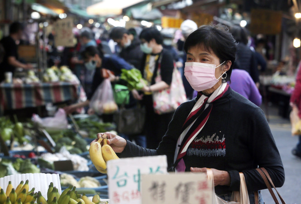 Virus Outbreak Taiwan