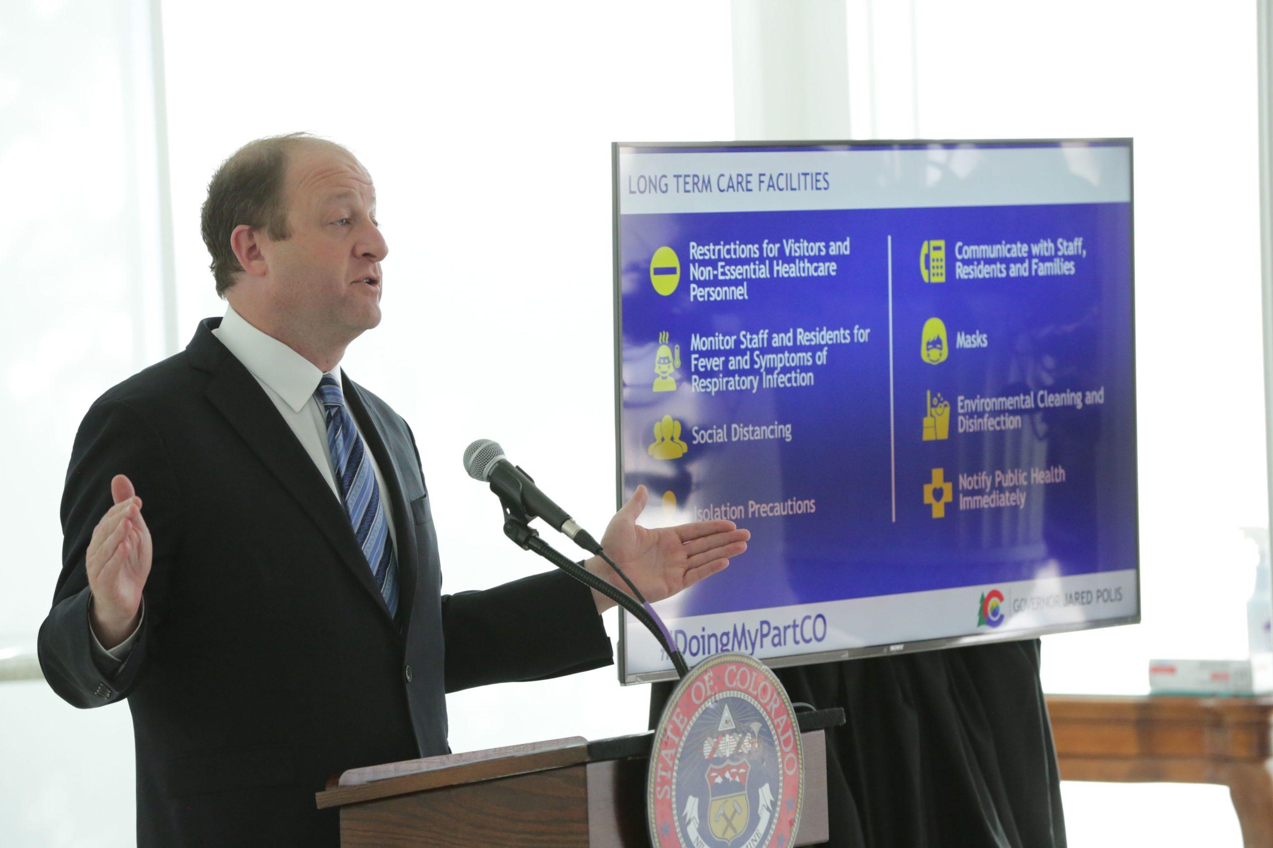 Jared Polis Press Conference 200417