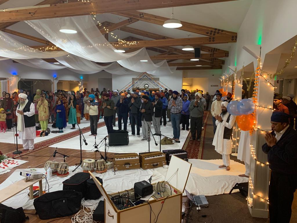 Service At Denver Sikh Gurudwara