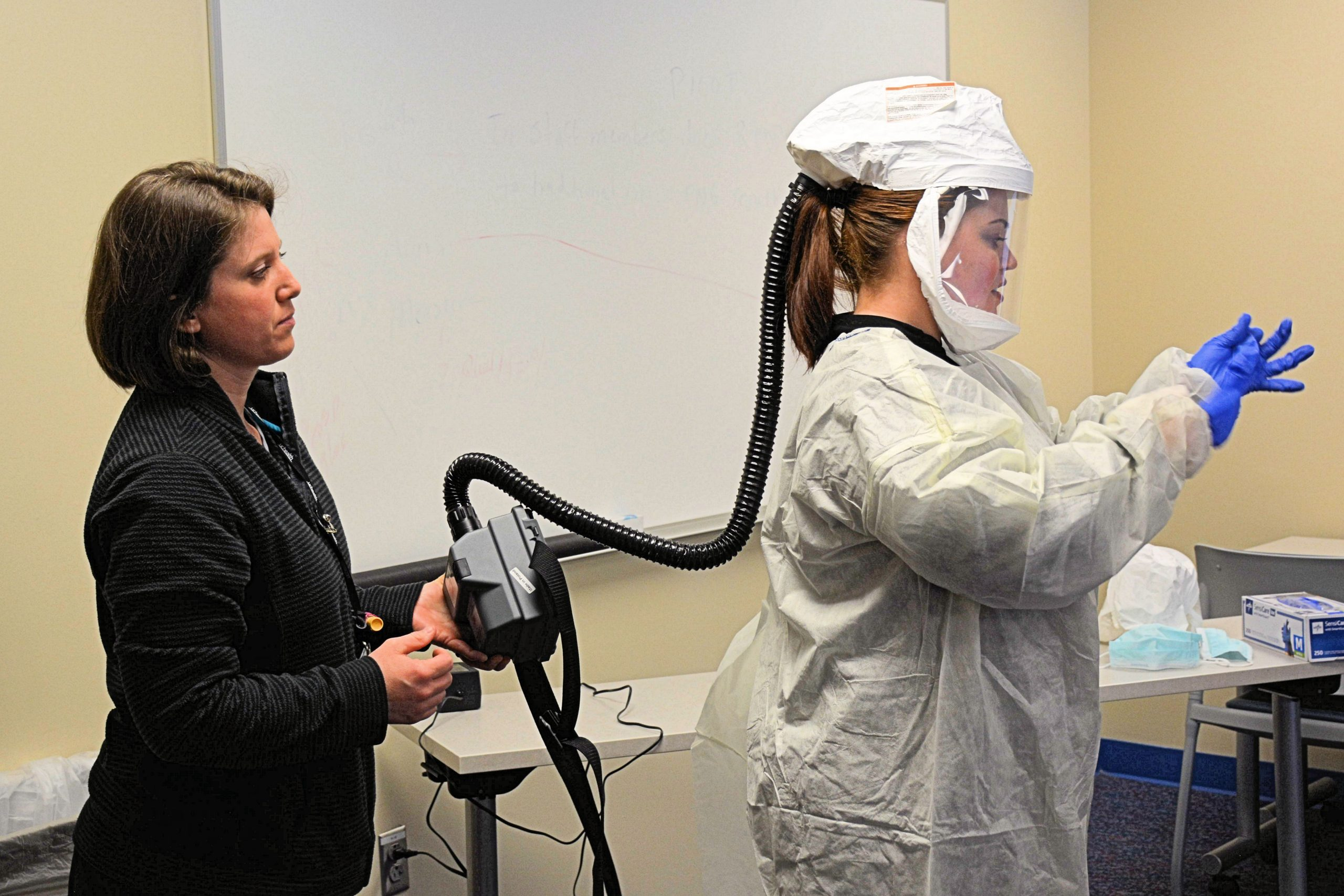 UCHealth trains for the new role of PPE specialist