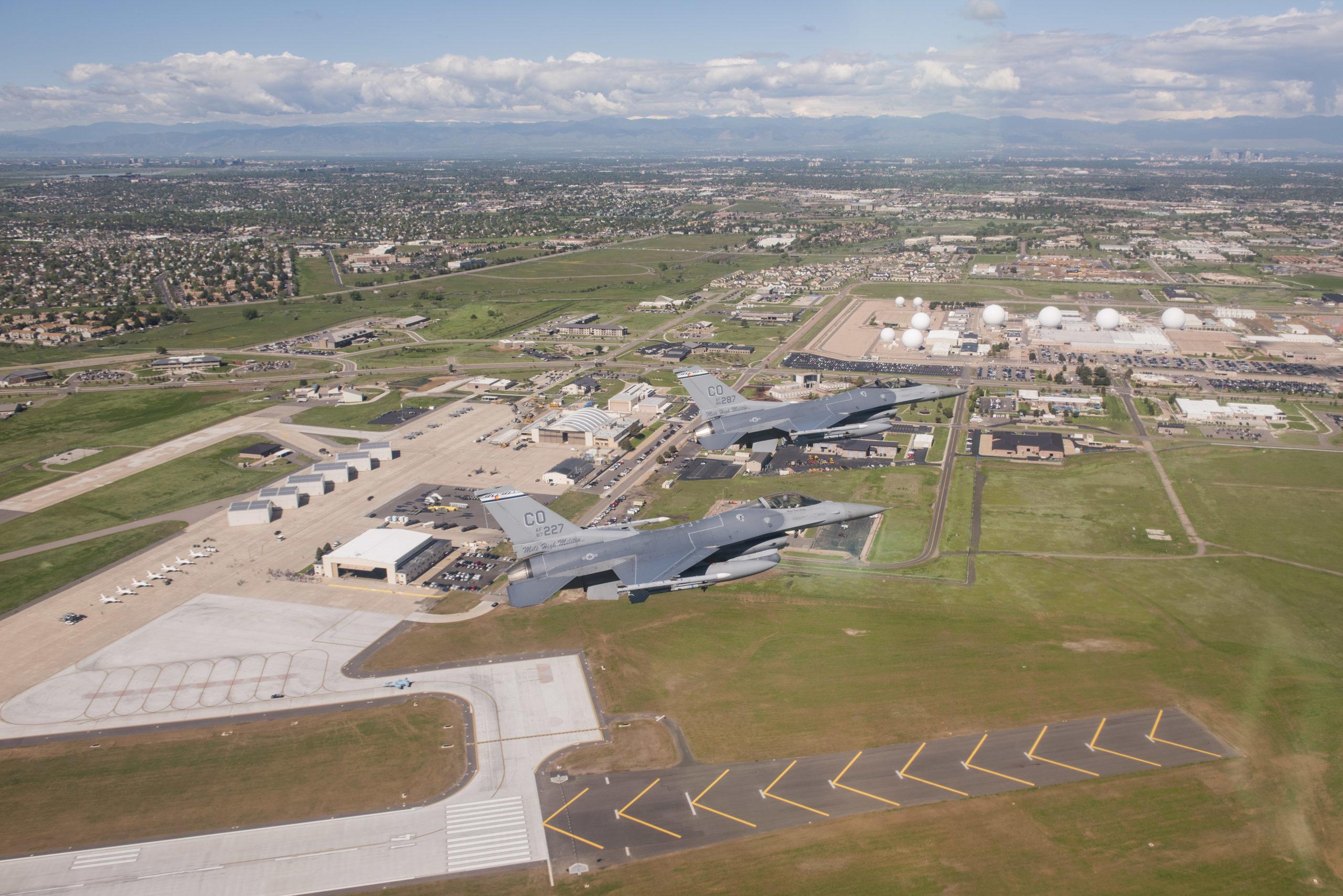 Colorado F-16s Tour Colorado