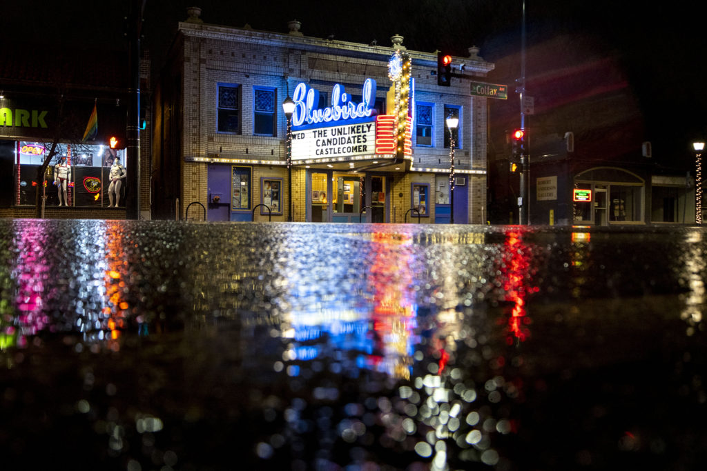 The Bluebird Theater, March 8, 2020. (Kevin J. Beaty/Denverite)