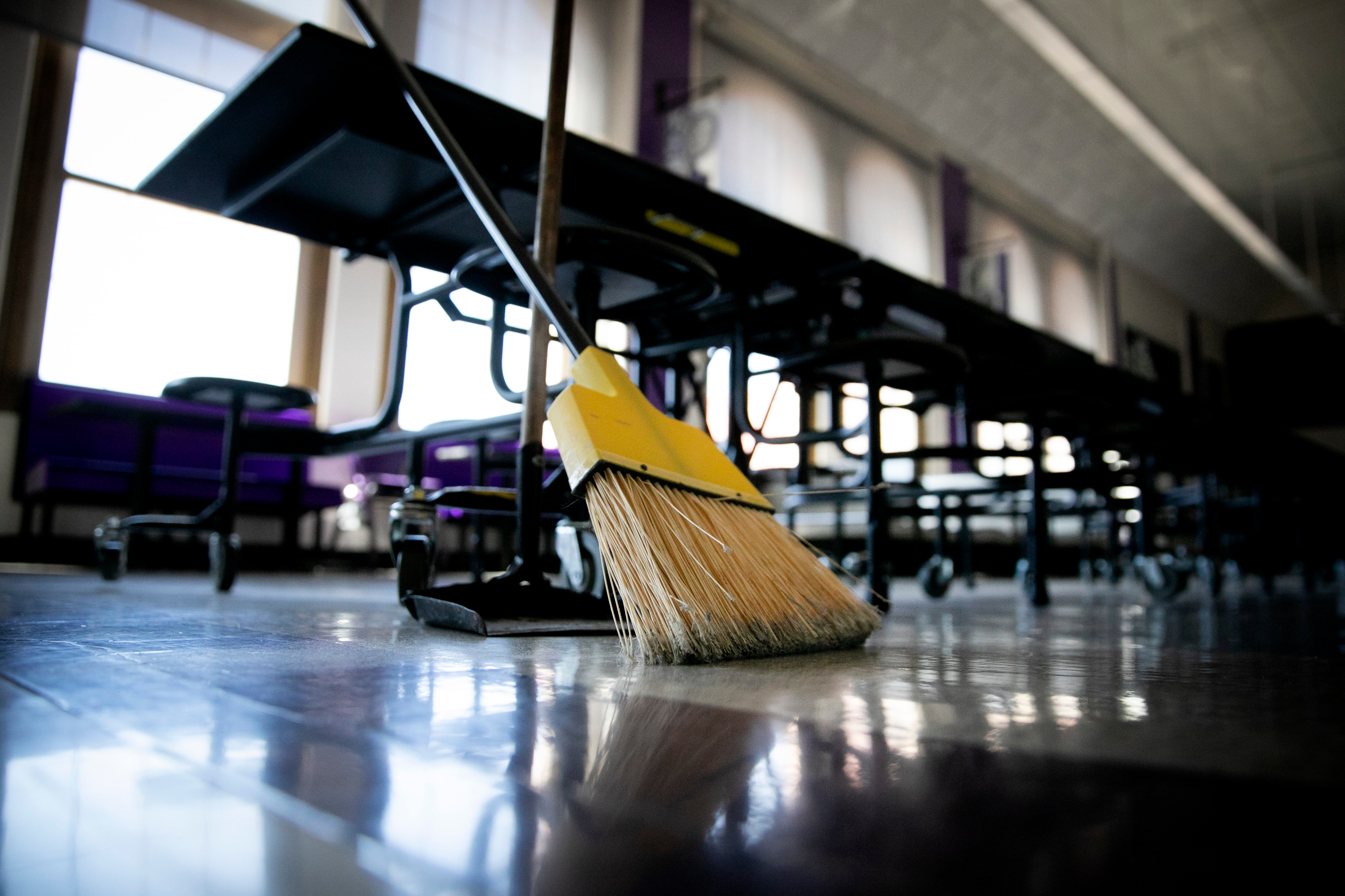 Empty Denver South High School