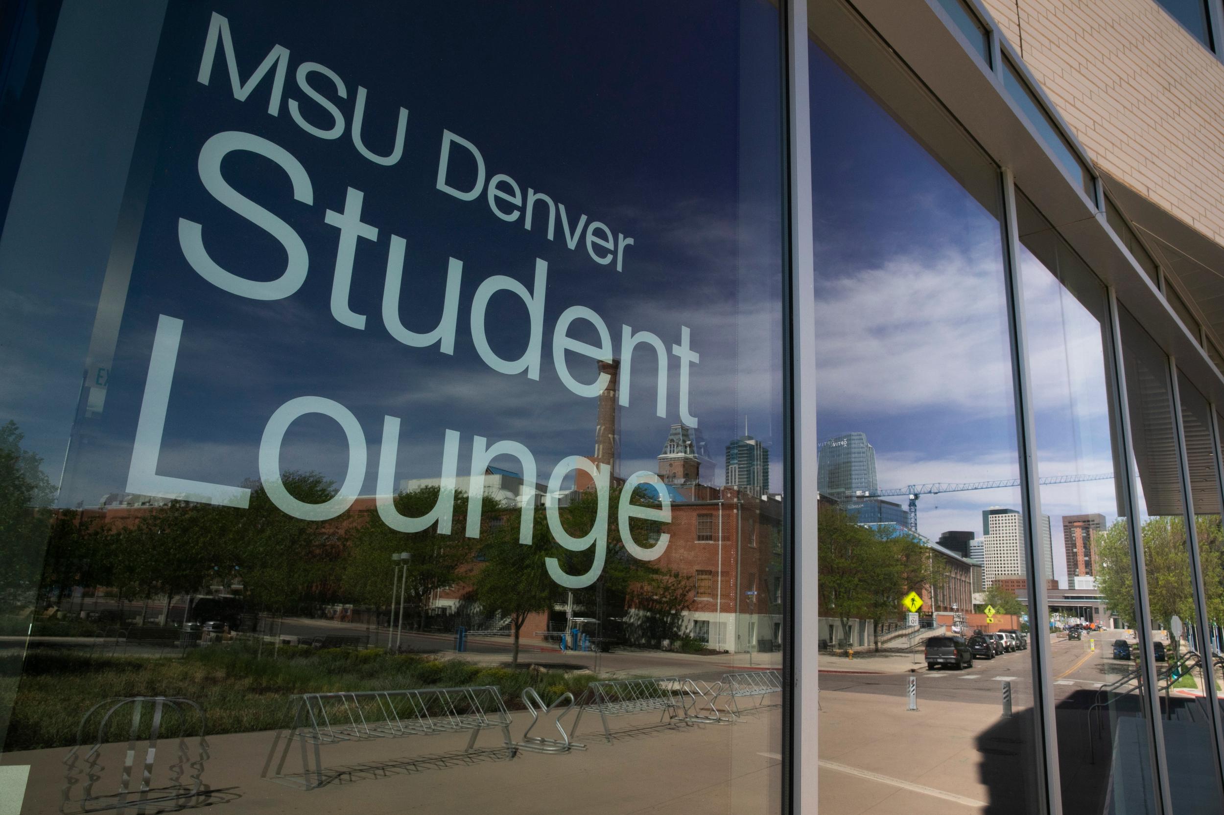 Denver's Auraria Campus Closed and Empty
