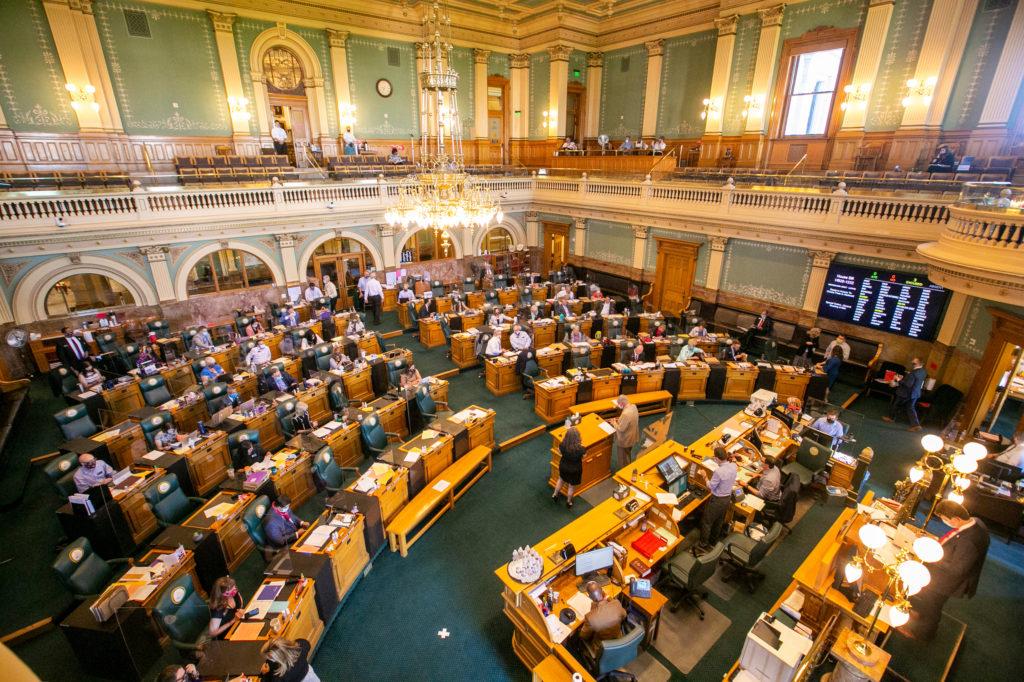 2020 Legislature Face Mask Plastic Shield