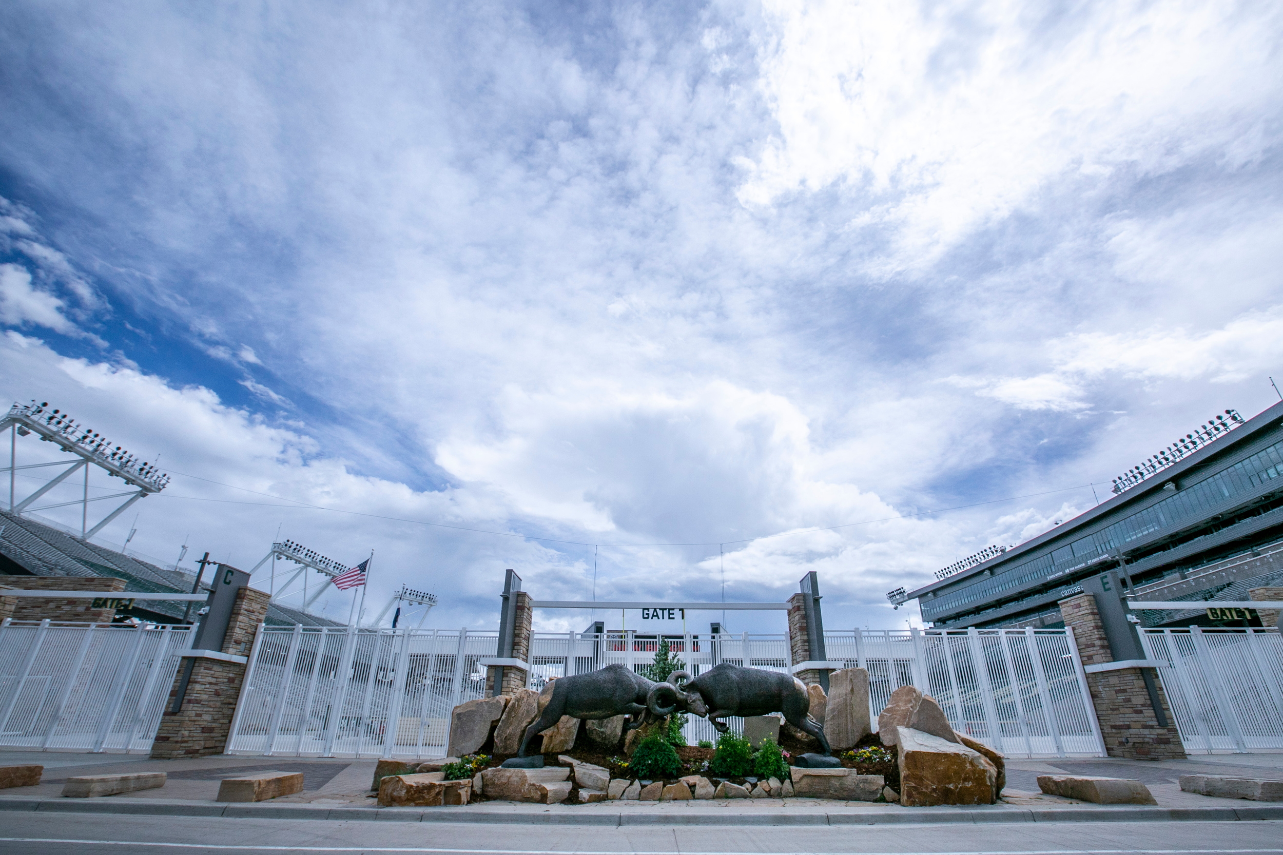 Canvas Stadium Colorado State University CSU
