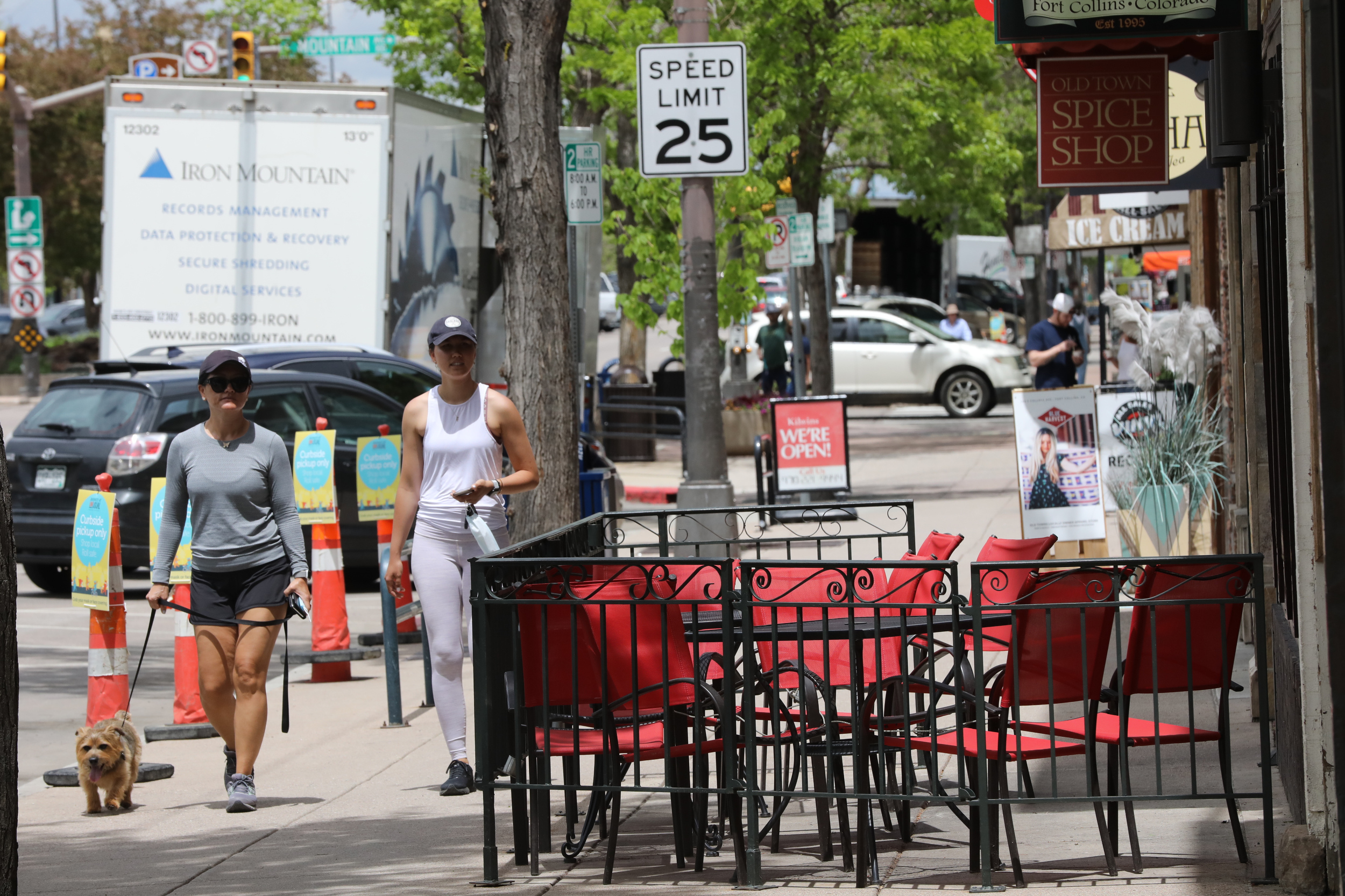 Some Fort Collins Restaurants Begin Reopening For Seated Customers, Masks and Social Distancing In Place