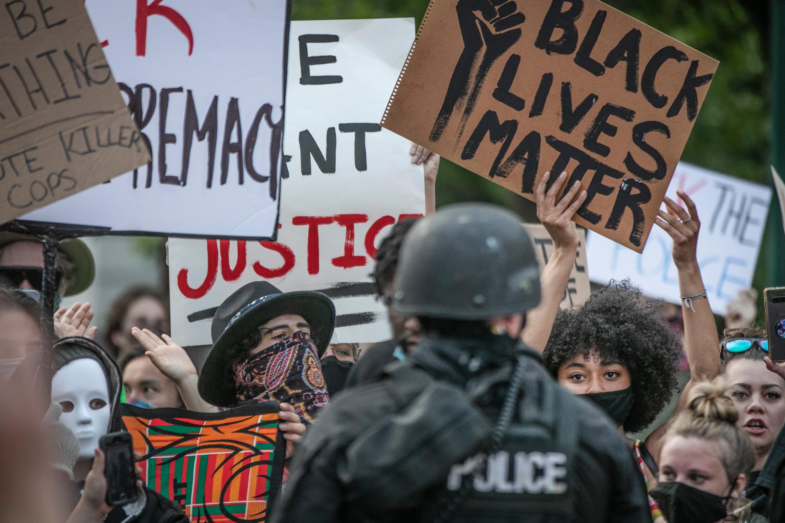 George Floyd Denver Protest