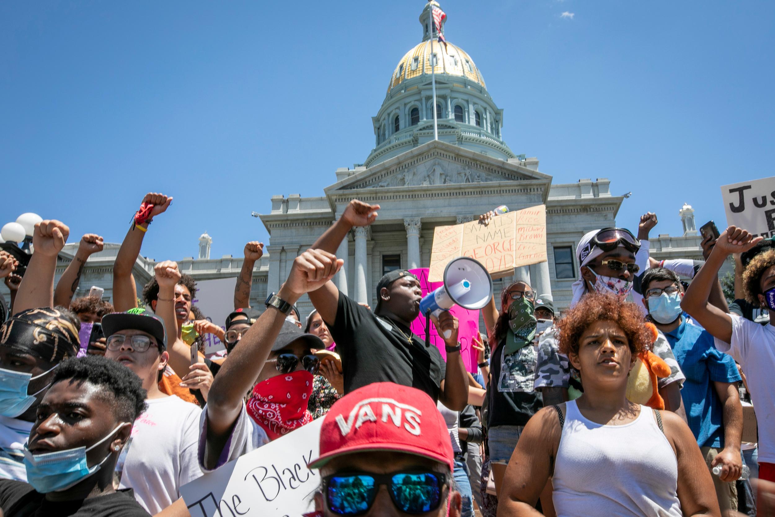 George Floyd Denver Police Protest Day 2
