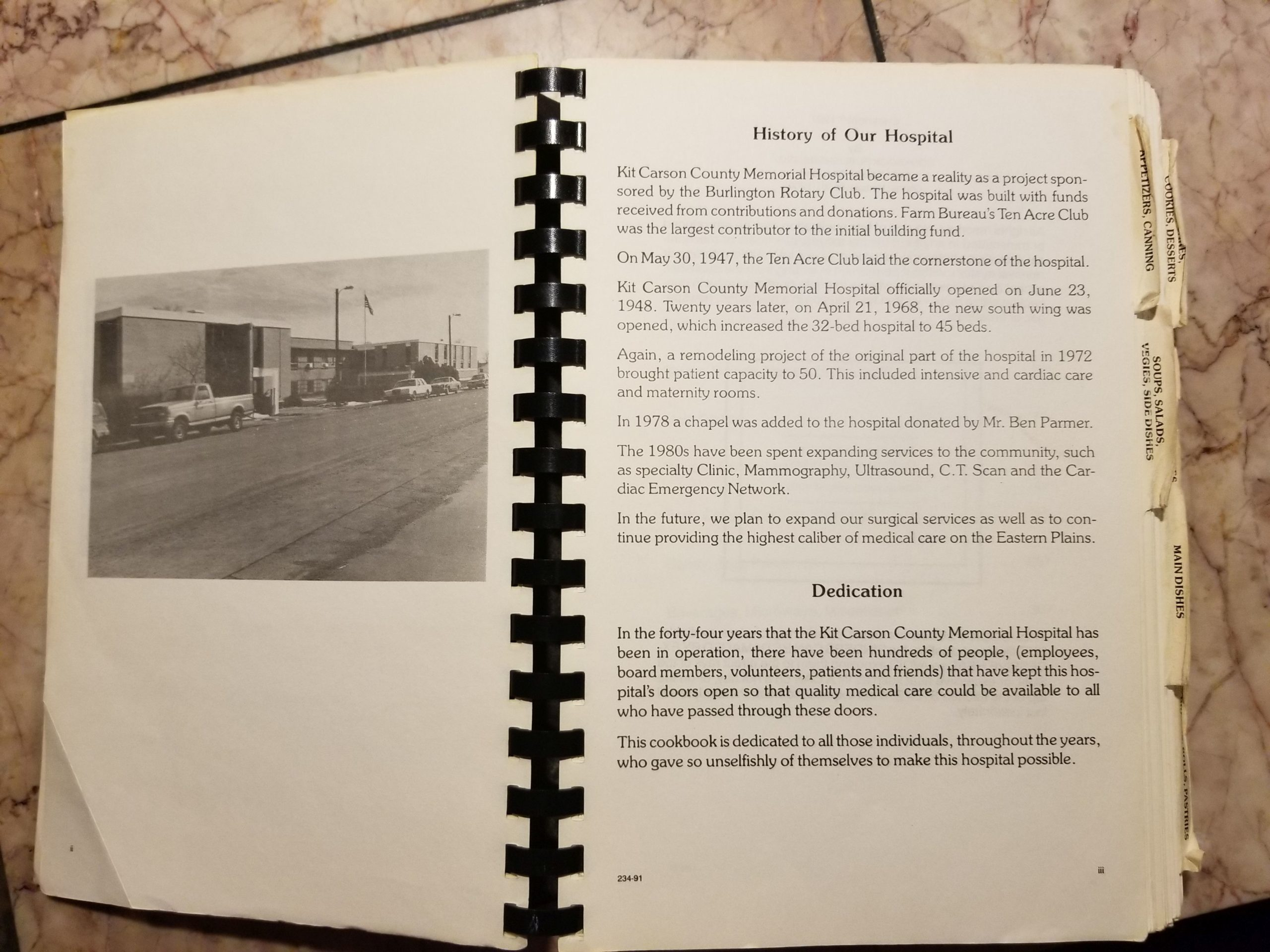 Kit Carson County Cookbook
