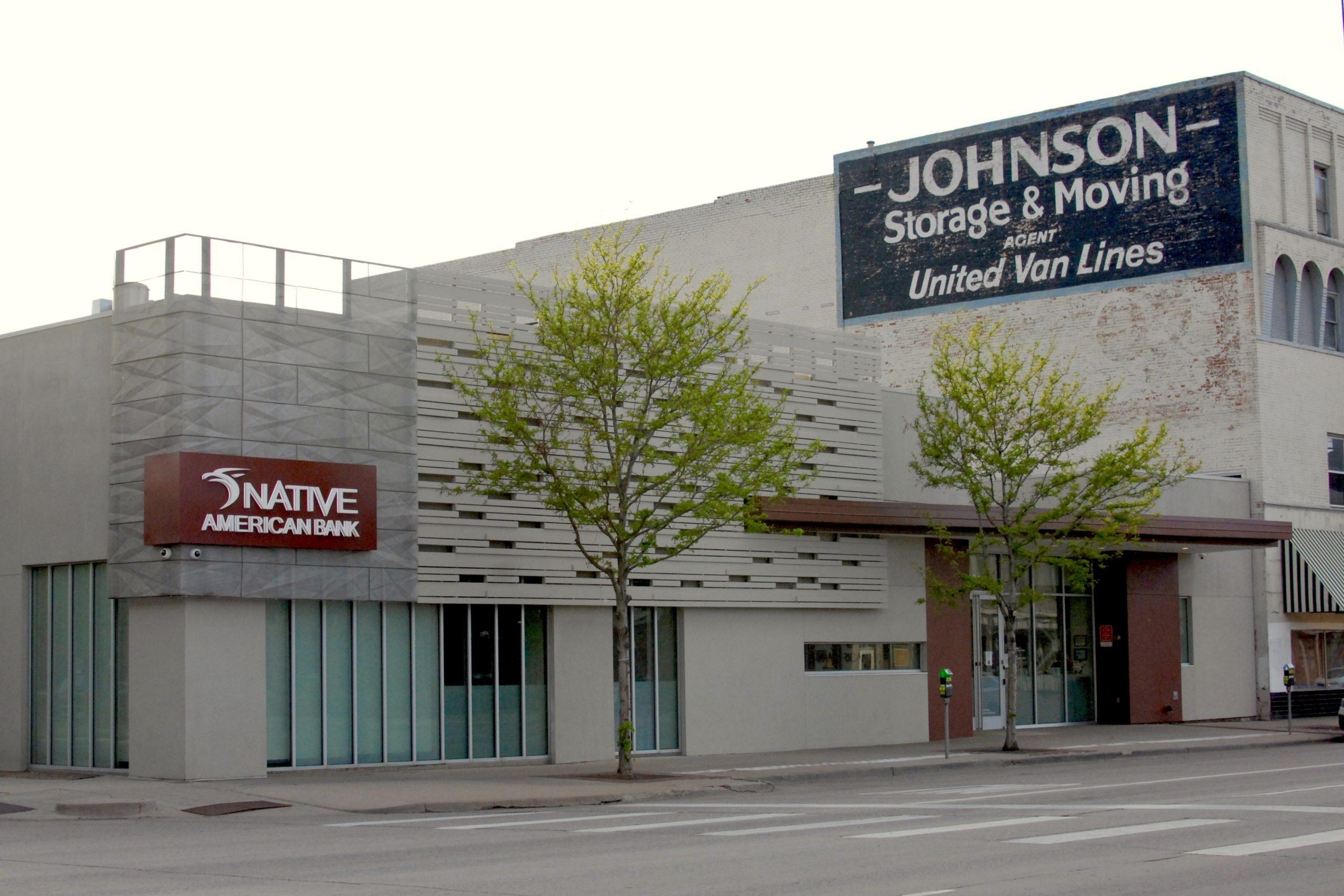 Denver-based Native American Bank on South Broadway.