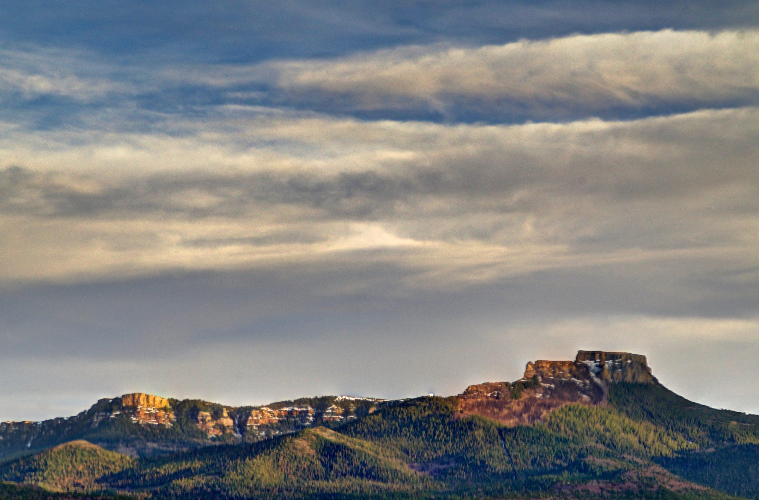 Fisher's Peak. File photo.