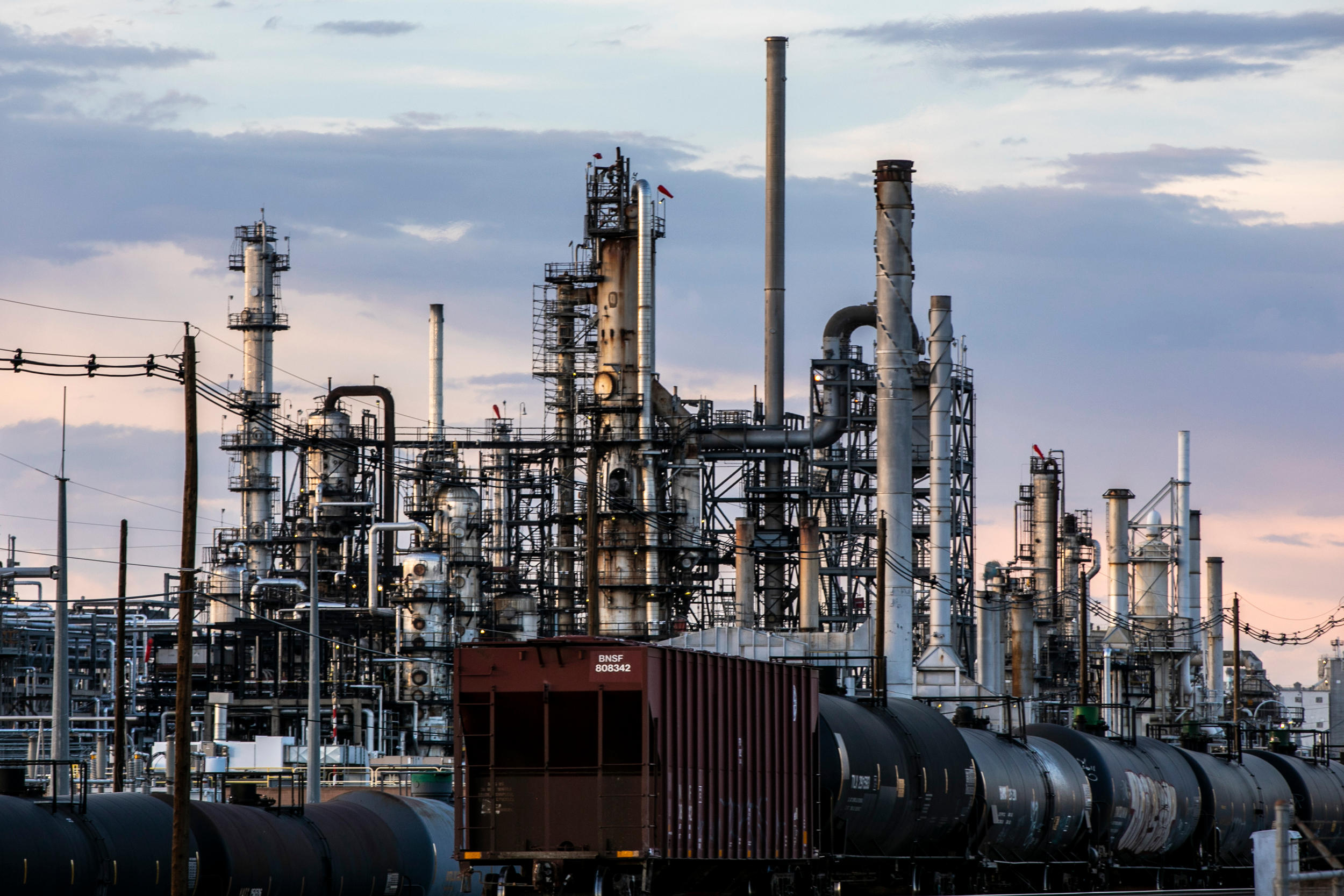 Suncor Oil Refinery