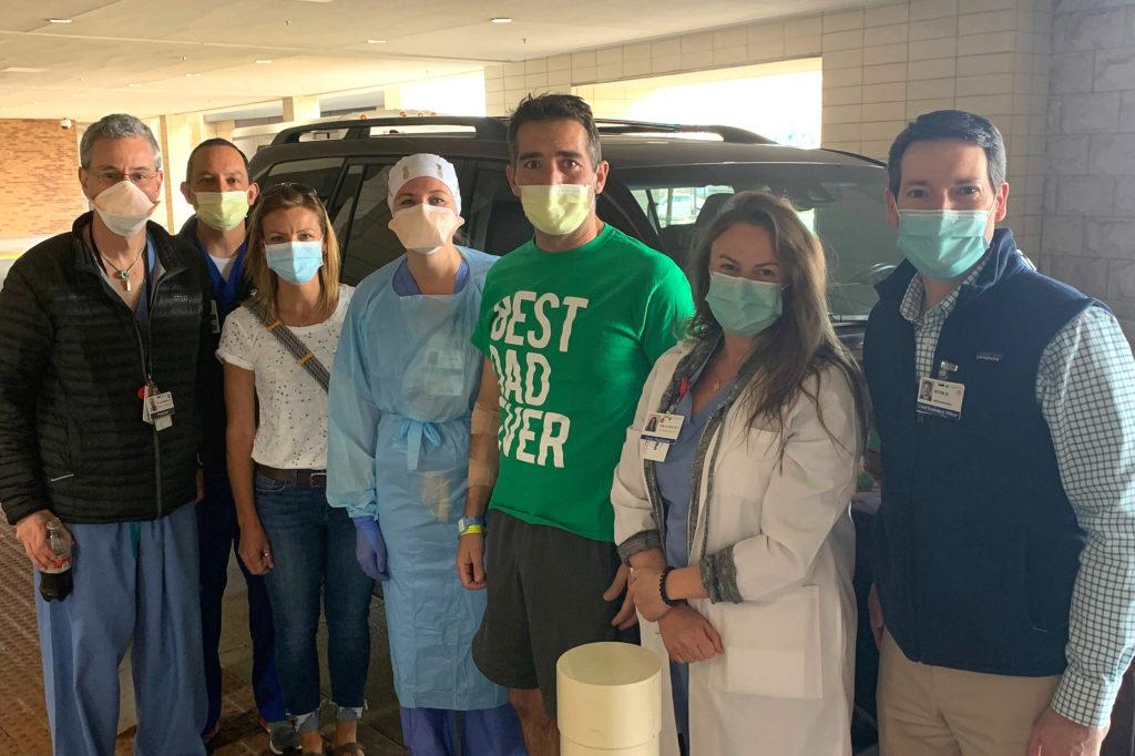 COVID Survivor Jason Jahanian Partial Care Team