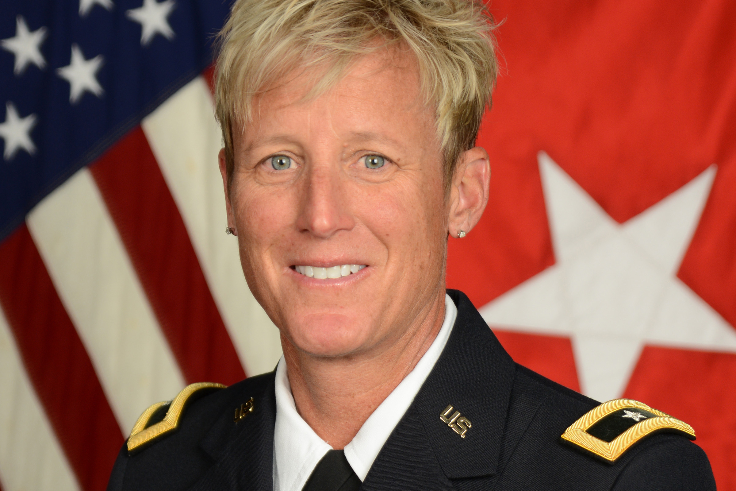 Army Brig. Gen. Laura Clellan, the first woman to head the Colorado National Guard.