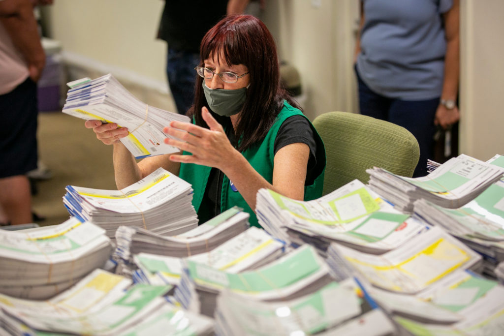 BALLOT SORTING COUNTING REJECTING DENVER