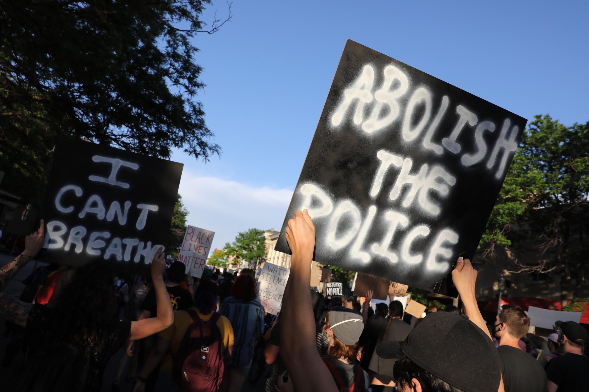 Denver Protests Against Racism Police Brutality June 2020 Abiolish The Police